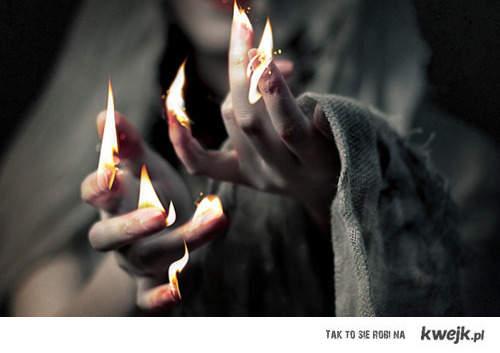 fire fingers