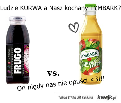 Frugo vs. Tymbark ♥
