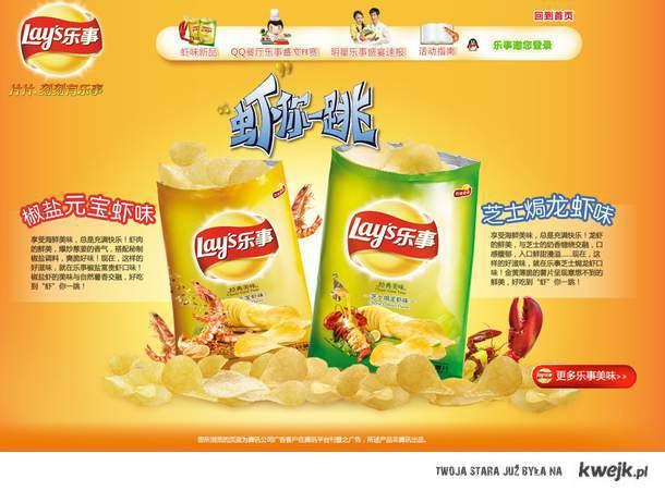 chińskie Lay`sy