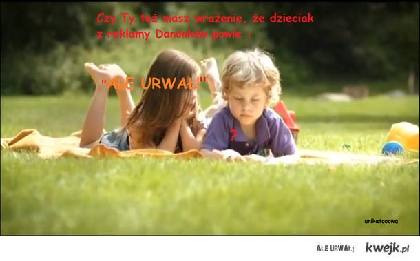 reklama danonków