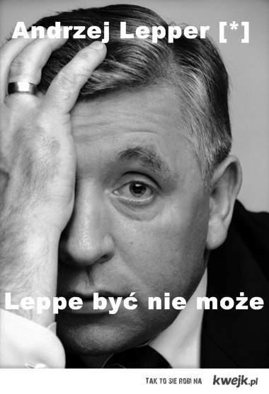 Leppe być nie może