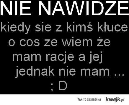 I HAAATE !