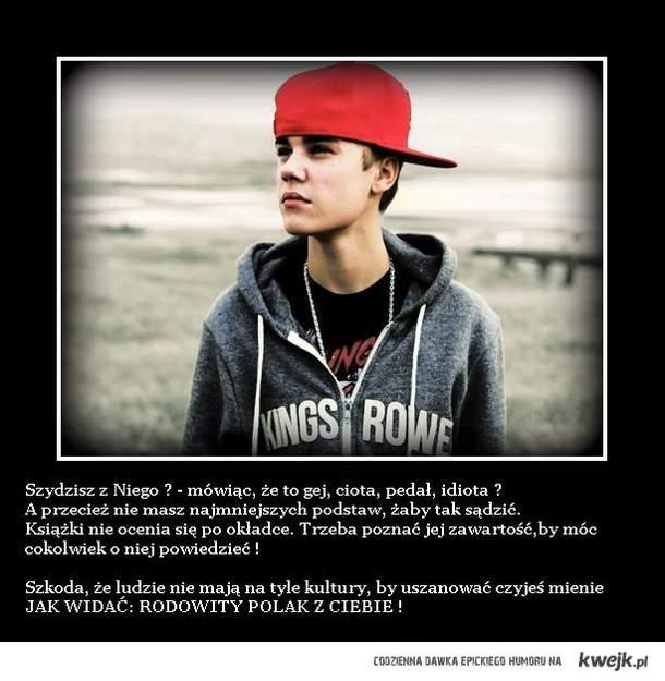 Justin Bieber - On też jest człowiekiem, który posiada uczucia...