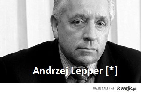 Andrzej Lepper nie żyje