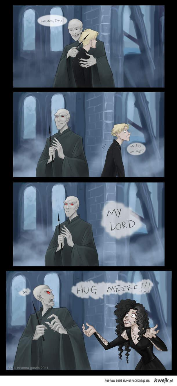 Hug me, Dark Lord