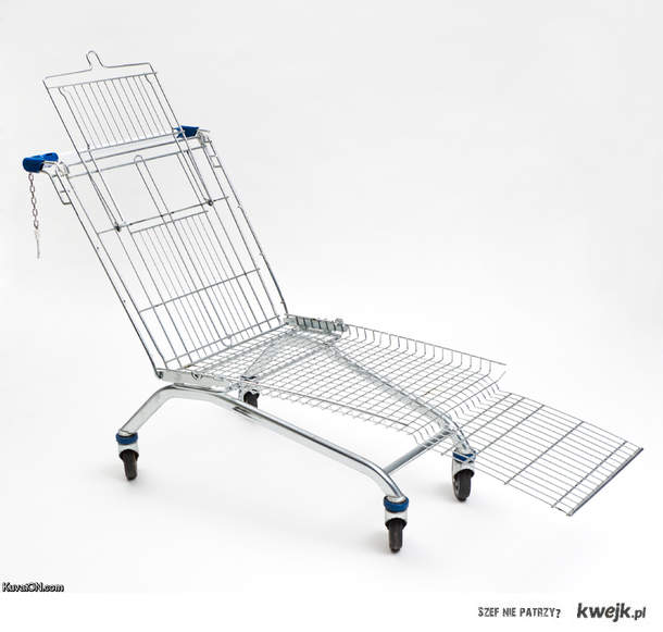 czemu nie ma takich wózków w naszych sklepach?