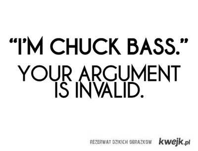 I'm Chuck Bass!