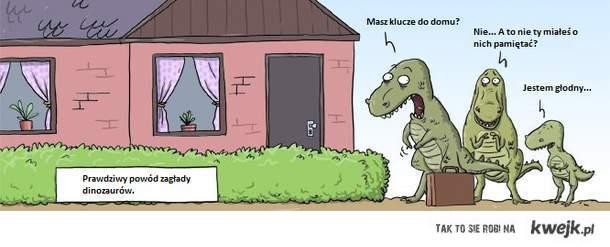 zagłada dinozaurów