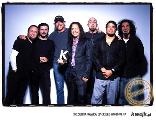 Metallica and System of a down