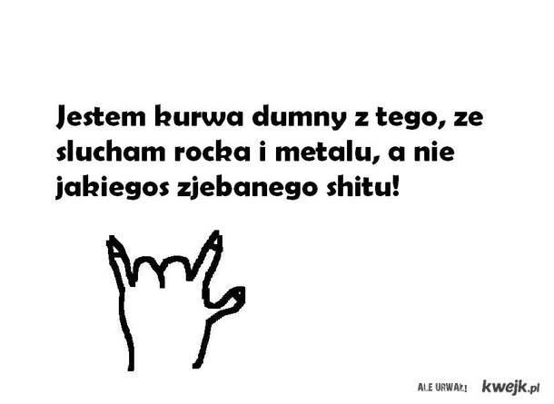 Ludzie, słuchajcie rocka!