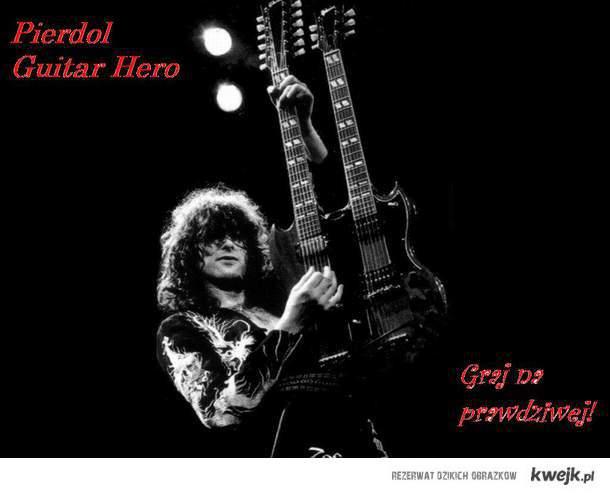 Olej Guitar Hero
