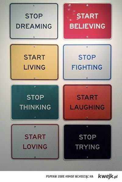 start believe