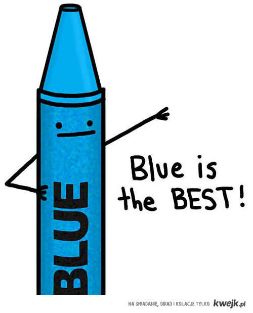 niebieski ♥