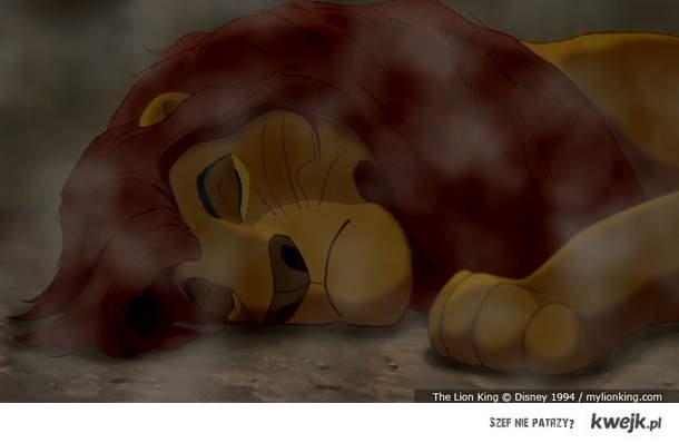 Gdyby nie ten Skaza, Mufasa jeszcze by żył :(