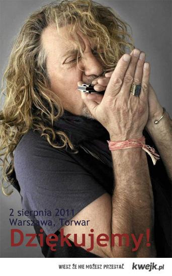 Robert Plant & A Band Of Joy, Warszawa