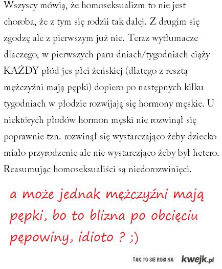 pępek + idiota