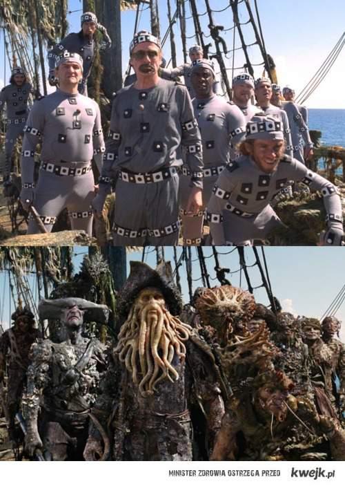 Piraci z Karaibów.