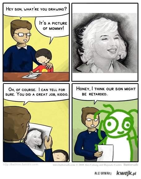 Komiks o portrecie