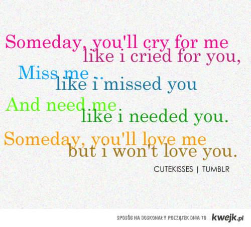 cry miss need love