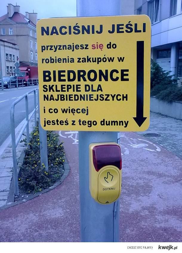 tabliczka na przejściu w Radomiu