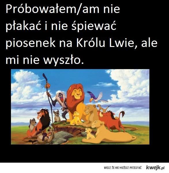 Król lew.