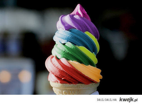 Rainbow icecream~