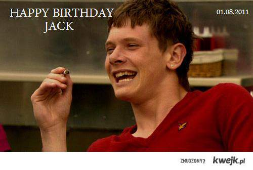 URODZINY COOK'A!! (Jack'a O'Connell'a)