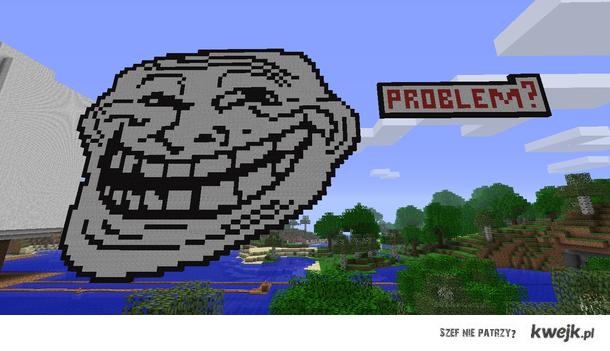 Trollface Minecraft