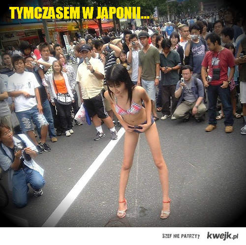 Tymczasem w Japonii...