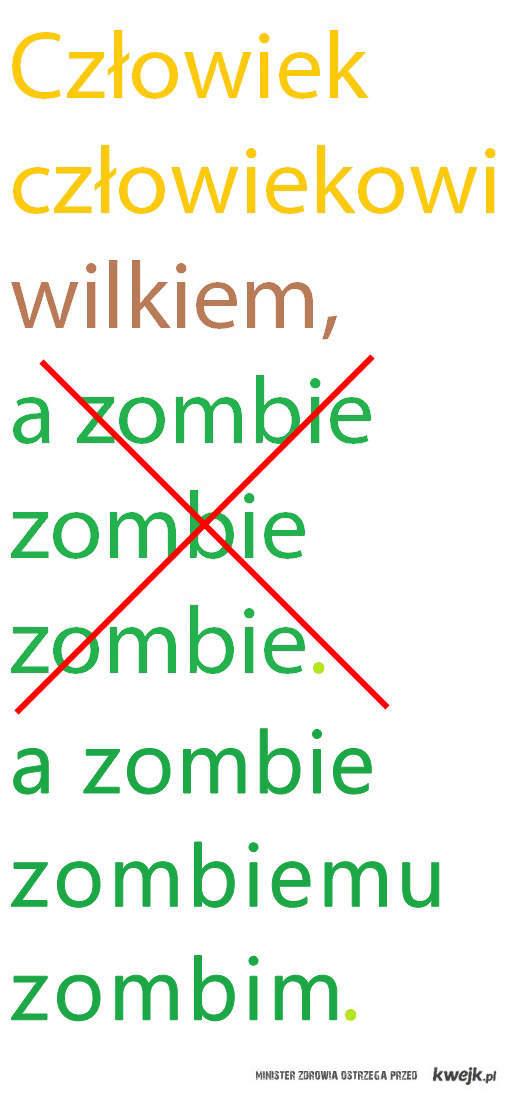 zombi korekt