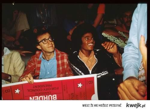 Woody Alen & Michael Jackson