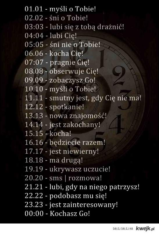 godzina . ♥