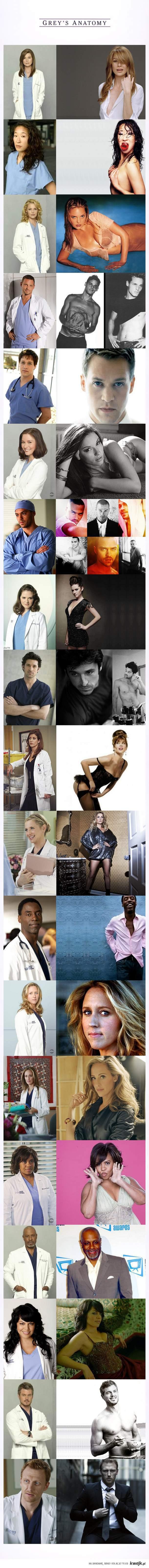 Grey's Anatomy, Chirurdzy