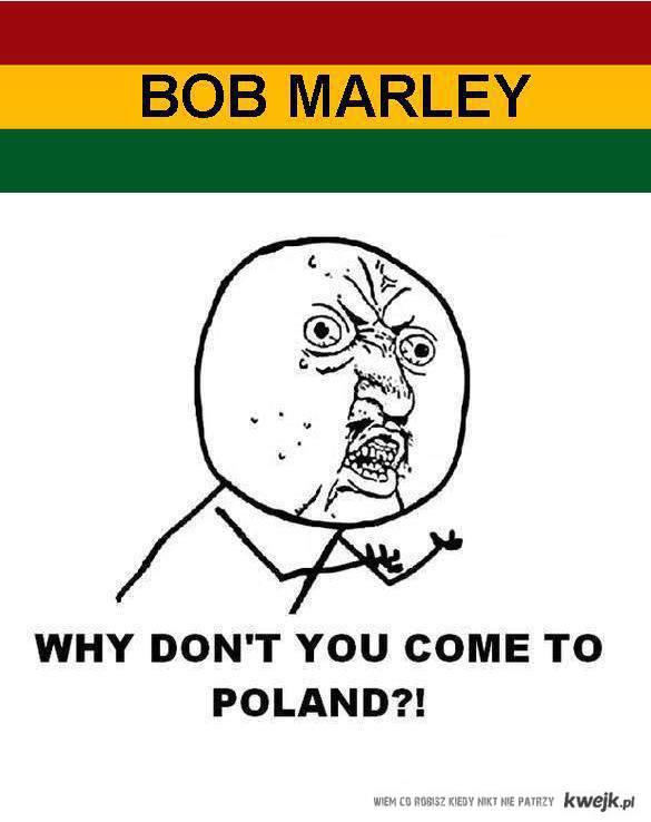 Bob Marley w Polsce