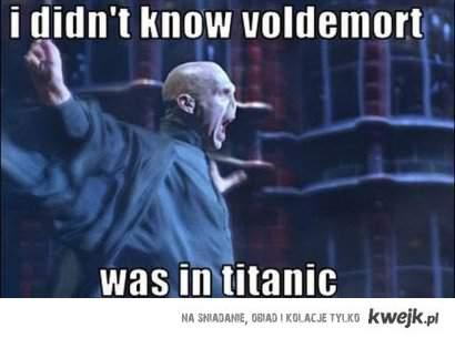 Voldemort in titanic