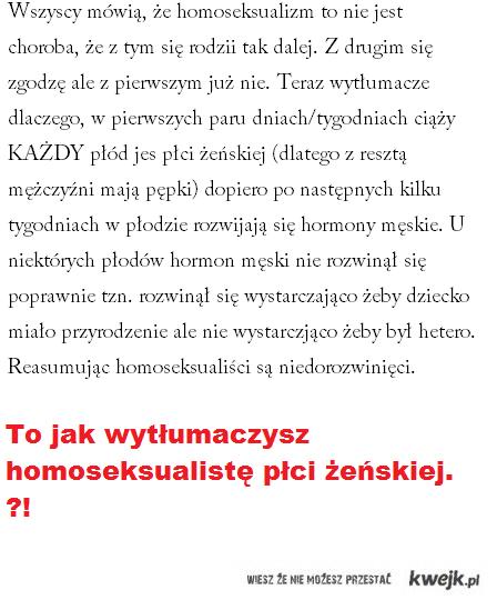 homoseksualizm to nie choroba !
