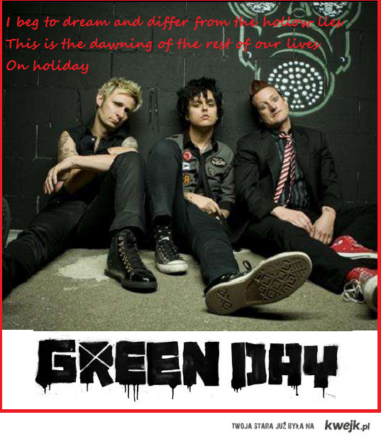 Green day-Holiday