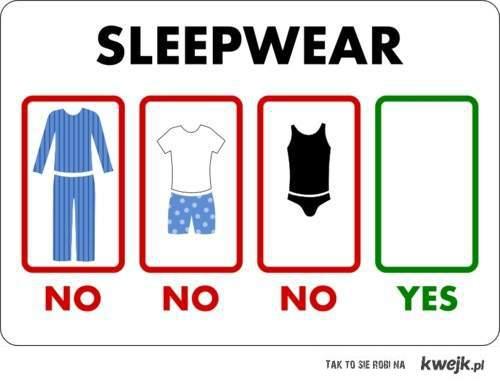 nocne ubranie