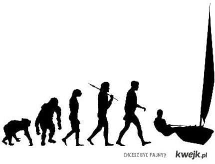 ewolucja żeglarza
