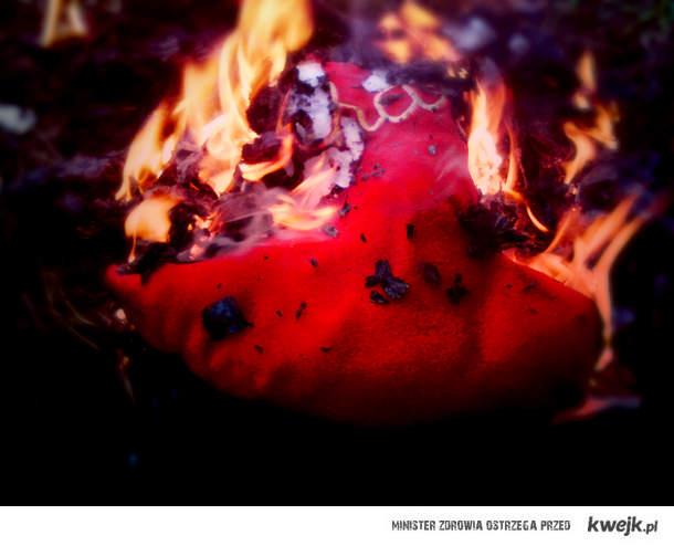 Płonące serce