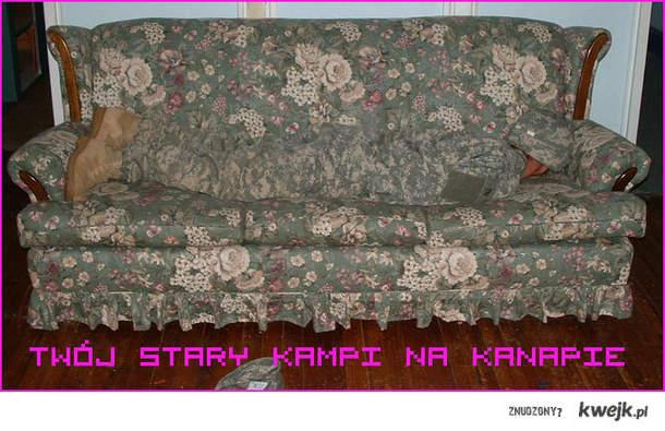 twoj stary kampi na kanapie