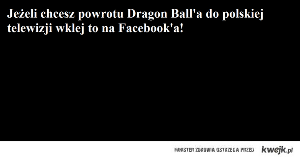 Dragon Ball powrót