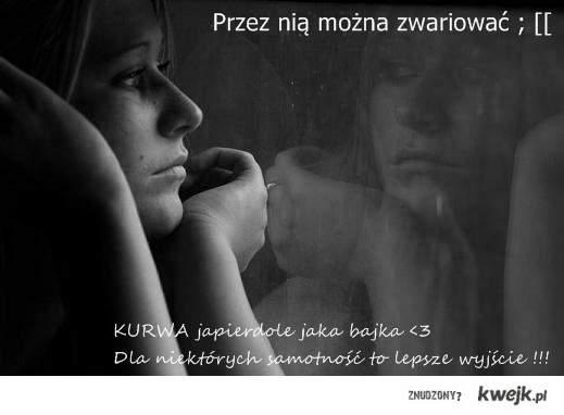 Samotność...♥