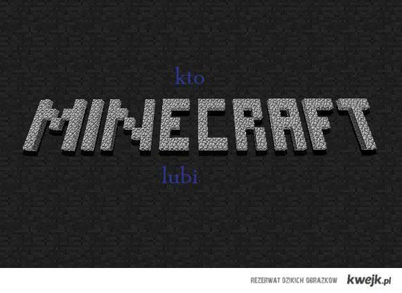 kto lubi minecraft