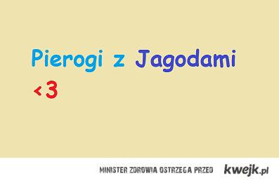 Pierogi z Jagodami <3