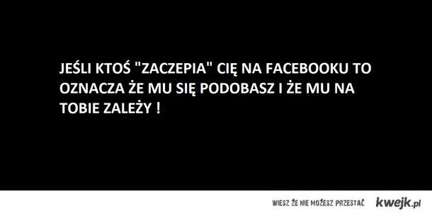 zaczepka na FB