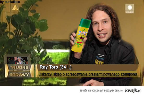 Ray Toro - trudne sprawy