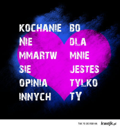 <3 :**** Kocham!