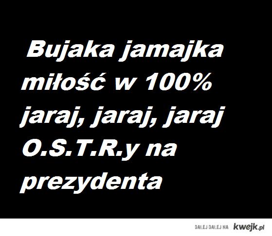 O.S.T.R. na prezydenta