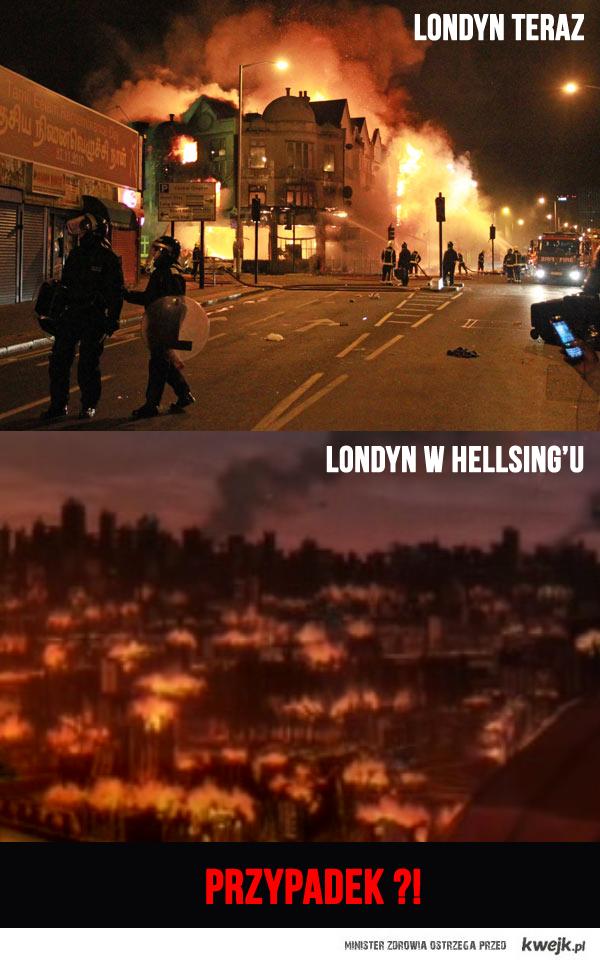 Real Londyn vs Hellsing's  Londyn